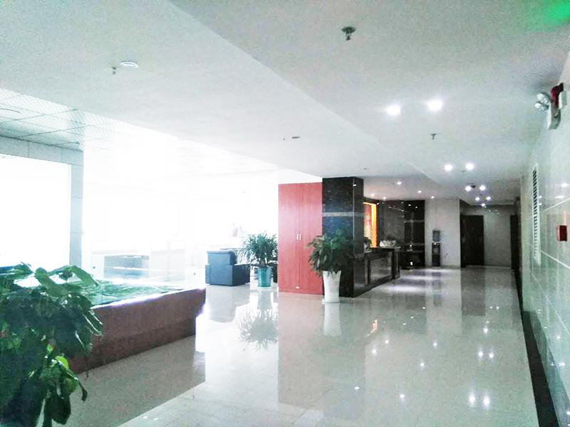办公大厅一角